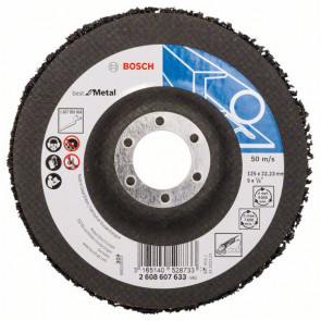Bosch Čisticí kotouč N377, Best for Metal 125 mm, 22,23 mm, SiC