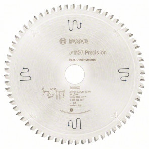 Bosch Pilový kotouč do okružních pil Top Precision Best for Multi Material 216 x 30 x 2,3 mm, 64