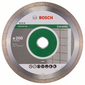 Bosch Diamantový dělicí kotouč Best for Ceramic 200 x 25,40 x 2,2 x 10 mm