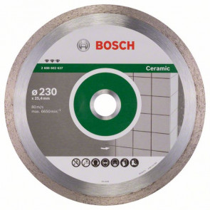 Bosch Diamantový dělicí kotouč Best for Ceramic 230 x 25,40 x 2,4 x 10 mm