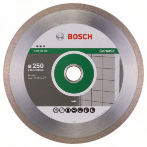 Bosch Diamantový dělicí kotouč Best for Ceramic 250 x 30/25,40 x 2,4 x 10 mm
