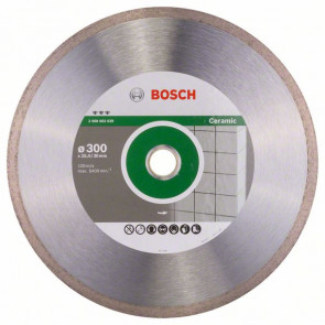 Bosch Diamantový dělicí kotouč Best for Ceramic 300 x 30/25,40 x 2,8 x 10 mm