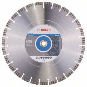 Bosch Diamantový dělicí kotouč Best for Stone 400 x 20,00+25,40 x 3,2 x 12 mm