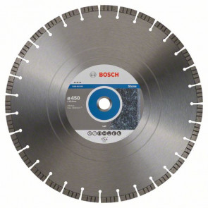 Bosch Diamantový dělicí kotouč Best for Stone 450 x 25,40 x 3,8 x 12 mm