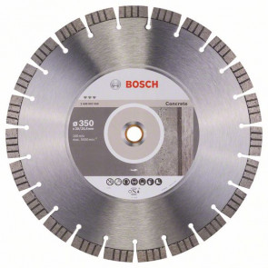 Bosch Diamantový dělicí kotouč Best for Concrete 350 x 20,00+25,40 x 3,2 x 15 mm