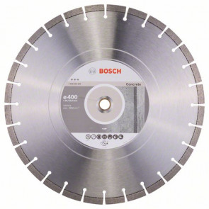 Bosch Diamantový dělicí kotouč Best for Concrete 400 x 20,00 + 25,40 x 3,2 x 12 mm