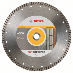 Bosch Diamantový dělicí kotouč Standard for Universal Turbo 300 x 22,23 x 3 x 10 mm