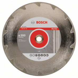 Bosch Diamantový dělicí kotouč Best for Marble 300 x 25,40 x 2,6 x 5 mm