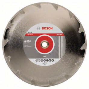 Bosch Diamantový dělicí kotouč Best for Marble 350 x 25,40 x 2,6 x 5 mm