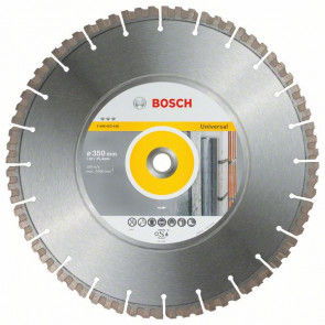 Bosch Diamantový dělicí kotouč Best for Universal 350 x 20/25,40 x 3,3 x 15 mm