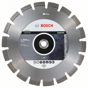 Bosch Diamantový dělicí kotouč Best for Asphalt 300 x 20 x 3,2 x 12 mm
