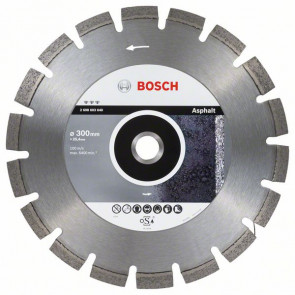 Bosch Diamantový dělicí kotouč Best for Asphalt 300 x 25,40 x 3,2 x 12 mm