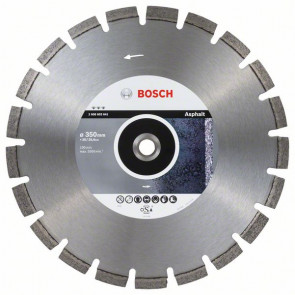 Bosch Diamantový dělicí kotouč Best for Asphalt 350 x 20/25,40 x 3,2 x 12 mm