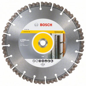 Bosch Diamantový dělicí kotouč Best for Universal 300 x 20,00 x 2,8 x 15 mm