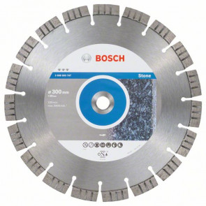Bosch Diamantový dělicí kotouč Best for Stone 300 x 20,00 x 2,8 x 15 mm