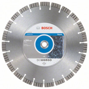 Bosch Diamantový dělicí kotouč Best for Stone 350 x 20,00 x 3,2 x 15 mm