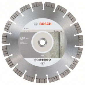 Bosch Diamantový dělicí kotouč Best for Concrete 300 x 20,00 x 2,8 x 15 mm