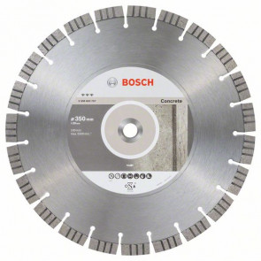 Bosch Diamantový dělicí kotouč Best for Concrete 350 x 20,00 x 3,2 x 15 mm