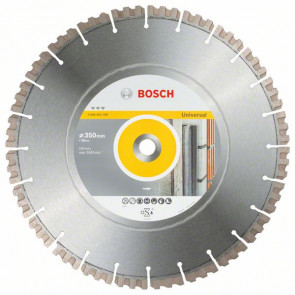 Bosch Diamantový dělicí kotouč Best for Universal 350 x 20,00 x 3,3 x 15 mm