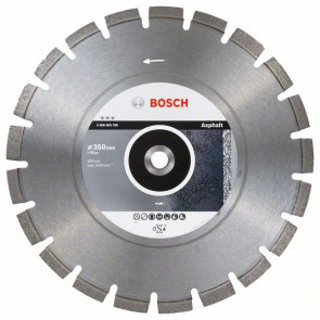 Bosch Diamantový dělicí kotouč Best for Asphalt 350 x 20,00 x 3,2 x 12 mm