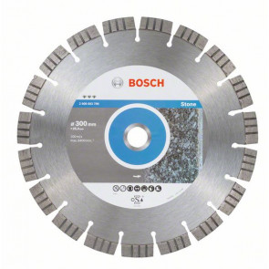 Bosch Diamantový dělicí kotouč Best for Stone 300 x 25,40 x 2,8 x 15 mm
