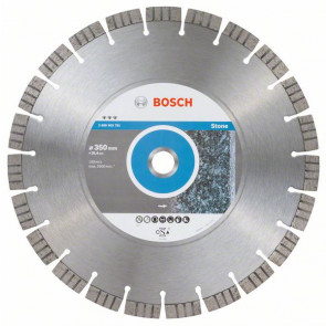 Bosch Diamantový dělicí kotouč Best for Stone 350 x 25,40 x 3,2 x 15 mm
