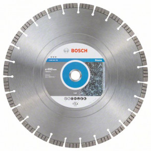 Bosch Diamantový dělicí kotouč Best for Stone 400 x 25,40 x 3,2 x 12 mm