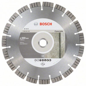 Bosch Diamantový dělicí kotouč Best for Concrete 300 x 25,40 x 2,8 x 15 mm