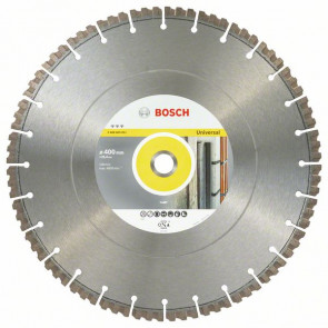 Bosch Diamantový dělicí kotouč Best for Universal 400 x 25,40 x 3,3 x 15 mm