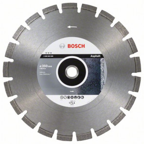 Bosch Diamantový dělicí kotouč Best for Asphalt 350 x 25,40 x 3,2 x 12 mm