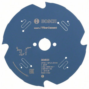 Bosch Pilový kotouč Expert for Fiber Cement 140 x 20 x 1,8 mm, 4