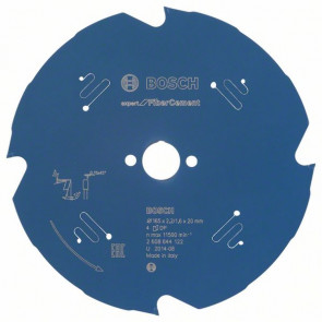 Bosch Pilový kotouč Expert for Fiber Cement 165 x 20 x 2,2 mm, 4